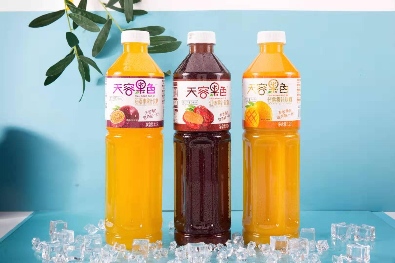 天容果色1.25L塑料瓶系列